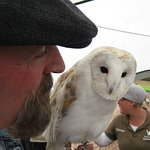 Me and Inca the Barn Owl