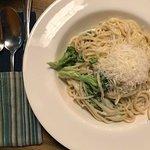 pasta with broccoli's
