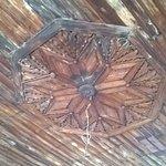 soffitto legno intagliato