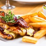 Our own twist on this Delicious 'HunterBrie' Chicken !