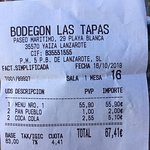 Photo de Bodegon Las Tapas
