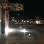 Birdcage at Night