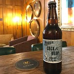 Our very own Cock & Hoop Pale Ale brewed by Magpie Brewery
