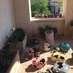 Composizioni sul balcone