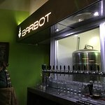 View of the Beer Taps