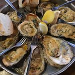Hands down my favorite dish this whole trip.  Chargrilled Oysters