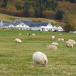 Farmhouse beside Skógafoss