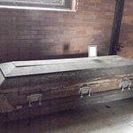 inside the morgue