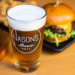 Nason's Double Burger and Local Beer