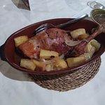 Cordero lechal con patatas