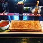 Footlong grilled cheese & Best bloodys