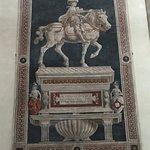 Monument to Niccolo da Tolentino by Castagno, inside church