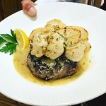 Fillet Steak with King Prawns