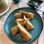 shrimp wrapped with tofu