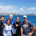 Vice President & Mrs. Pence diving with the Aqua Zone Crew