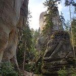 Фотография Адршпашские скалы
