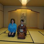 photo op after Tea Ceremony with Tea Master