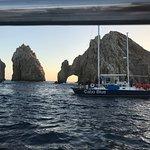 Evening sailing Near El Arco de Cabo San Lucas