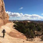 Riding Navaho Rocks.