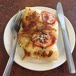 Tomato Focaccia Pizza