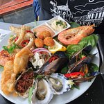 Lunch,Seafood platter