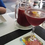 Pitcher of Sangria - delicious!