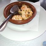 Garlic King Prawns - I'd eaten half the portion before I took the picture.