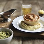 Try a whole selection of classic, veggie, vegan & gluten-free pies. Feast on pie & mash heaven..