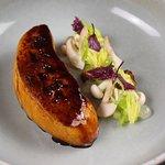 Foie gras, dashi & yuzu
