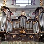 The main organ of the church.