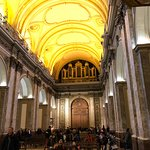 Fundo da catedral