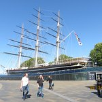 Cutty Sark from Gypsy Moth
