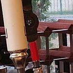 Torque and Little Brown Jug tap handles.