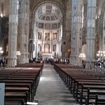 View down the aisle towards main altar