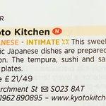 Foto de Kyoto Kitchen