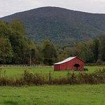 Nice farms along the trail