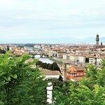 Bild från Piazzale Michelangelo