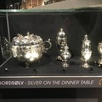 Some of the silver on display