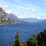 foto del lago Lácar