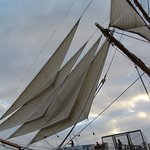 A sailing vessel from the 1700's