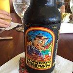 rich brown beer