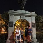 A quiet night at Colonial Park Cemetery!