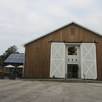 It is located in this new barn
