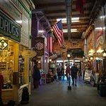 "the ""mall"" inside of Wall Drug"