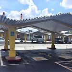 retro looking carports for parking