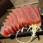 o atum estava delicioso.