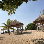 Huts on Tivua Island for your convenience