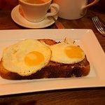 sourdough bread and eggs!