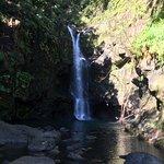 """Secret"" waterfall at 9.9 Mile mark"