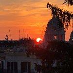 Sunset en Piazza Spagna
